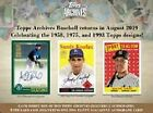 2019 Topps Archives Complete Your Set (101-200)(1975) Buy 5 Get 2 Free No Limit on Ebay