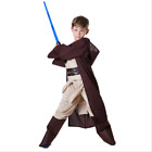 Star Wars Jedi Boys Cosplay Luke Skywalker Costume Kids Carnival Party Outfit £29.88 GBP on eBay