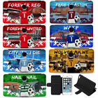 Football iPhone 6 7 7 Plus Case iPhone Cover Kids Boys Personalised ALL TEAMS