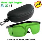 LED Grow Room Glasses UV Protection Eyewear HID Grow Lamp Optic Color correction picture