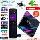 H96 Max Android 9.0 Smart TV Box 32G Quad Core 4K HD 5.8GHz WiFi Media Player US