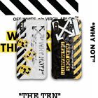 Off-White Glossy Diamond Texture Case for iPhone X Xs Max XR & iPhone 7 8 Plus