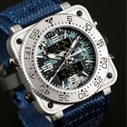 3 Style INFANTRY Mens Wrist Watch Sport Tactical Military Army Nylon image