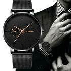 Business Stainless Steel Men's Military Sport Date Analog Quartz Wrist Watches image