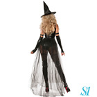 Halloween Ladies Sexy Unique Wicked Witch Party Fancy Dress Costume Set UK