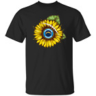 Sunflower Los Angeles Chargers Funny T-Shirt Black-Navy for Men-Women-Youth $16.95 USD on eBay