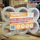 Tape King Clear Packing Tape 110 Yards per Roll (36 Rolls) Packaging Commercial