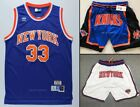 Patrick Ewing #33 New York Knicks 1985-86 Throwback Jersey Shorts - Blue / White on eBay
