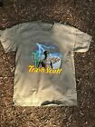 travis scott merch tour supreme rare t-shirt 2019 cereal astroworld puffs buju image