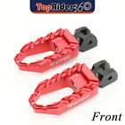 Aluminum Highway Wide BUZZ Front Foot Pegs For Triumph Speed Triple 955i 99-04 $54.88 USD on eBay