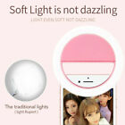Selfie LED Ring Fill Light Camera Flash Portable for Cell Phone iPhone Universal