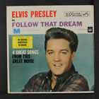ELVIS PRESLEY: Follow That Dream 45 (PC, sm tol) Oldies