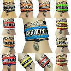 NFL Handmade Bracelets Infinity love NFL Football Bracelets $5.89 USD on eBay