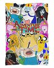 Adventure Time Fluffy Micro Fleece Throw Blanket