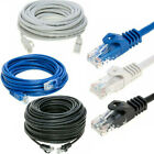 CAT5e Patch Ethernet Internet LAN Network Modem Router Cable Black White Blue