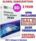 BitDefender Total Security 2020 1 Device - 3 Years - Global Central Account