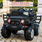 12V Jeep Car Electric Powered Kids Ride on Battery ChildrenRemote Control USA