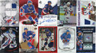NEW YORK RANGERS Lot of 10 Hockey cards, includes Autograph & Jersey cards