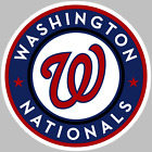 Washington Nationals Logo Decal Sticker Choose Size 3M LAMINATED BUY 3GET 1FREE on Ebay