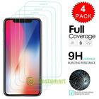 For IPhone X XS MAX XR 11Pr0 10D Full Cover Real Tempered Glass Screen Protector