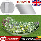 Flexible Lawn Fence Divider Path Boarder Edging Steel Fencing 10/15/20 pcs