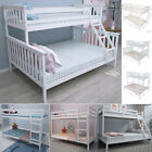 Triple Bunk Beds Cabin Bed Double & Single Bed Frame High Sleeper Children Kids