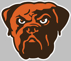Cleveland Browns Dog  Logo Decal Sticker Choose Size 3M LAMINATED BUY3GET1FREE $29.95 USD on eBay