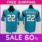 sale Men's Carolina Panthers #22  Christian McCaffrey football stitched jersey $34.79 USD on eBay