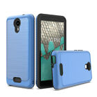 For AT&T Prepaid Radiant Core U304AA Slim Lining Hybrid Case Cover