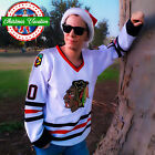 Christmas Vacation Jersey Clark Griswold Stitched CCM Hockey Chicago Blackhawks $48.00 USD on eBay