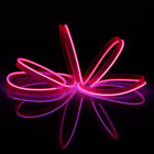 UK LED Car Interior Atmosphere EL Wire Neon String Strip Lights Rope Tube Lamp