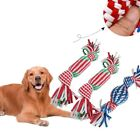UK Dog Toy Sound Puppy Resistant to Biting Molar Interactive Rope Pet Toys