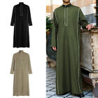 Kyпить Men's Saudi Style Thobe Thoub Dishdasha Jubba Islamic Arab Kaftan Abaya Robe Top на еВаy.соm