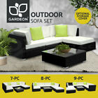 Gardeon Outdoor Lounge Setting Furniture Sofa Set Wicker Rattan Garden Patio