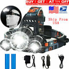 Kyпить 100000LM T6 LED Headlight Headlamp Head Torch 18650 Flashlight Work Light Lamp на еВаy.соm