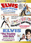 ELVIS PRESLEY DVD Triple Feature HARUM SCARUM..SPEEDWAY..TROUBLE WITH GIRLS NEW!