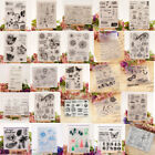 Внешний вид - Various Silicone Clear Stamp Transparent Rubber Stamps DIY Scrapbooking Craft