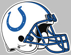 Indianapolis Colts Helmet Decal Sticker Choose Size 3M LAMINATED BUY3 GET1 FREE $10.95 USD on eBay