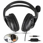 Wired Gaming Headset Mic Stereo Noise Cancelling Earphones For PS4 Xbox One Mac