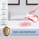 Bamboo Waterproof Mattress Protector Premium Hypoallergenic Fitted Bed Cover