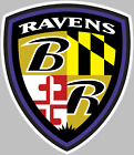 Baltimore Ravens Coat Arms Decal Sticker Choose Size 3M LAMINATED BUY3GET1FREE $16.95 USD on eBay