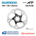 Shimano DEORE XT Ice-Tech SM-RT86 6 Bolts Disc Brake Rotors 160 180 203mm MT800