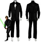 Star Wars Luke Skywalker Return of the Jedi Cosplay Costume Halloween Dark Suit