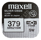 Genuine MAXELL Silver Oxide Watch Battery 1.55v Japan Made - ALL SIZE SHOWCASE!