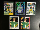 AARON RODGERS  Green Bay Packers 2012, 2019 Lot of 9 Cards