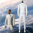 Star Trek Discovery Dr. Nambue Costume White Medic Officer Uniform Suit Cosplay