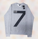 EMPORIO ARMANI EA7  LONG SLEEVE SWEATSHIRT FOR MEN'S (Large 7 Printed)