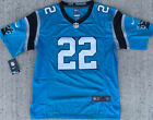 Christian McCaffrey 22 Carolina Panthers Black/Blue STITCHED Game MEN'S Jersey $28.99 USD on eBay