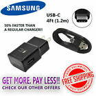OEM Samsung Galaxy S8 S9 S10 Note 9 Fast Charging USB Wall Charger +TypeC lot