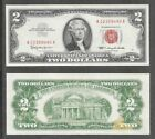 1963 - $2 EF * Fancy No Repeating #S with Weird Discolor * Note